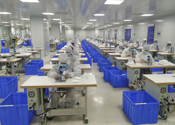 Hebei Pengyuan Optoelectronic Co.,Ltd factory production line