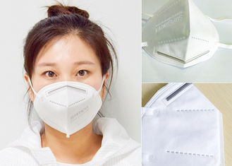 Pm2.5  KN95 Anti Dust Earloop Masks Anti Bacteria CE  FDA FFP2 For Civil Use