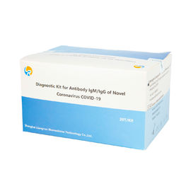 Ce Approved Virus Diagnostic Igm Igg Influenza Test Kits