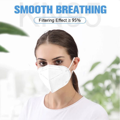 KN95 Non-Woven Fabric Mask, meltblown Filter Safety Earloop Face Mask